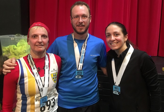 Worthing Half 2017 - after